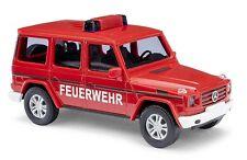BUSCH H0, 51459 MERCEDES -benz G Clase 2008 , BOMBERO, modelo de coche 1:87