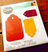 Scallop Tags Combo #2 Scalloped Tag Sizzix Originals Die 654991 NEW!