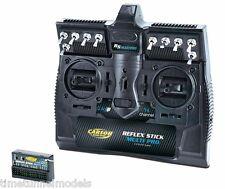 Carson 501003 Reflex palo Multipro 14Ch radio + receptor para tanques Tamiya Camiones/