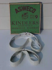 RARE ANTIQUE ASWECO KINDLERS FLORENCE BURNERS 8958 8959 MINT IN BOX OLD STOCK