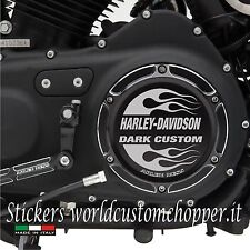 1 ADESIVO STICKERS COVER PRYMARIA REPLICA HARLEY DAVIDSON  MOTO CUSTOM Cod.AS23