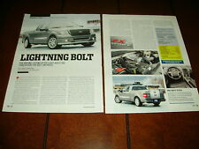 2007 FORD F-150 FX2 SPORT EXTREME PICKUP TRUCK ***ORIGINAL ARTICLE***