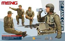 Meng Model HS-002 1/35 IDF Tank Crew
