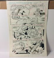 1983 Omega Men # 2 Original Comic Art Page #20 Total Action Page Broots Orgin