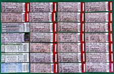 Linkin Park Projekt Revolution Lot 28 Unused Concert Tickets Chester Bennington