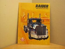 VINTAGE DIAMOND REO TRUCKS BROCHURE RAIDER SEMI LANSING, MICHIGAN *FREE SHIP*