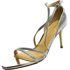 Sandalias y chanclas de mujer Ivanka Trump de tacón alto (más que 7,5 cm) de color principal plata