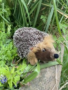 Living Nature Cute Little Baby Hedgehog Soft Toy 7 Inches Long
