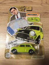 Matchbox Mini Cooper Mr Bean
