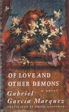 "GABRIEL GARCIA MARQUEZ ""Of Love and Other Demons"" (1995) SIGNED FIRST EDITION"