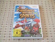 Die Wahnsinnige Welt Des Sports für Nintendo Wii und Wii U *OVP*