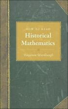 HISTORICAL MATHEMATICS BOOK How to Read NEW Hardcover USA FREE SHIPPING