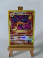 Mewtwos Charizard Proxy Custom Pokemon Card in Holo Glurak