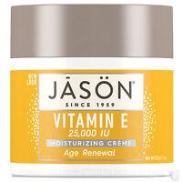 Jason Organic VITAMIN E 25000 IU age renewal face cream 113g