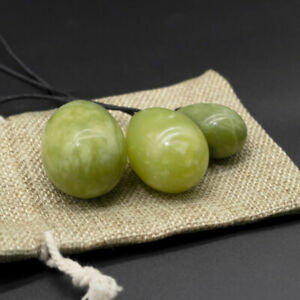 Natural Jade Egg Kegel Women Chakra Healing Yoga Muscle Exercise TighteningBDZY