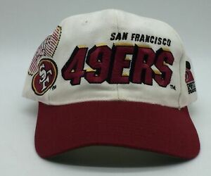 Vintage San Francisco 49ers Sports Specialties Snapback SF Shadow Hat