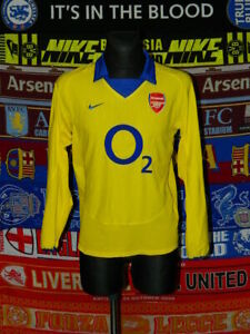 4.5/5 Arsenal adults S 2003 #3 long sleeve football shirt jersey trikot soccer