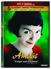 Amelie (Dvd + Digital Code, 2011) (Audrey Tautou, Mathieu Kassovitz, Rufus) New