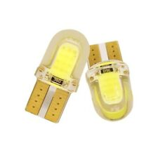 T10 501 COB Bulb SMD LED Car Lights Wedge Interior Sidelight Lamp - Cold White
