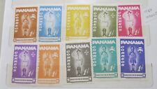 1964 Panama Scouts Movement Set of 10 Stamps MUH