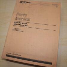Cat Caterpillar 990 Series Ii Wheel Loader Parts Manual Book Catalog Front End 2