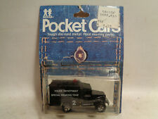1978 Vintage Tomy Pocket Cars #186-67 Police Special Weapons Team New In Package