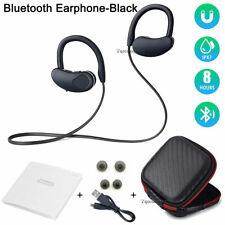 In-Ear Hook Headphones Wireless Bluetooth Sport Earphones Stereo Headset Earbuds