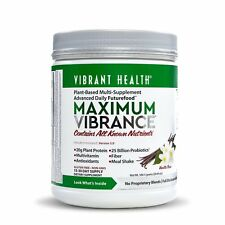 Vibrant Health Maximum Vibrance Version 5.0 Vanilla Bean 20.69 oz