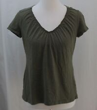 Cato, Small, Dark Olive Knit Top