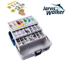 Jarvis Walker 500 Piece 3 Tray Tackle Box Storage Brand New