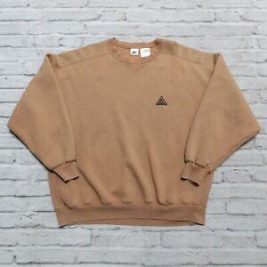 Vintage Nike ACG Crew Neck Sweatshirt Size XL All Condition Gear Single V
