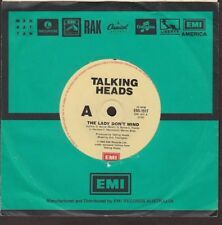"Talking Heads - The Lady Don't Mind / Give Me Back My Name - 7"" single 45rpm"