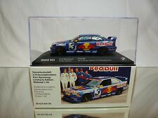 MINICHAMPS BMW M3 E36 - ÖTM 1995 - QUESTER - RED BULL 1:43 - GOOD IN DEALER BOX