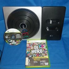 DJ HERO GAME AND TURN TABLE