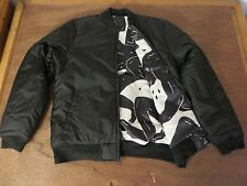 Cleon Peterson x HUF Sold Out Sz M Reversible Bomber Jacket ffo Kaws Obey Faile