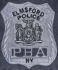 EPD Elmsford Police Department WestChester County Sweatshirt PBA Sz XL NYPD New