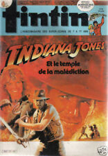 TINTIN 471 PUB MAC DONALD / INDIANA JONES TBE