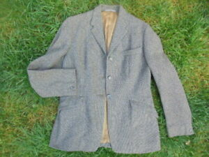 Harry Hall tweed wool hacking riding Jacket size 14