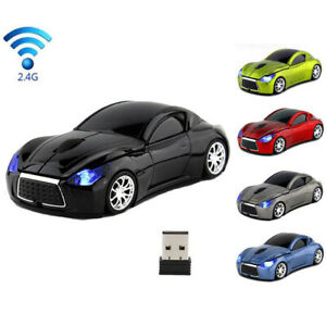 2.4GHZ Infiniti Sports Wireless car Mouse USB game mice for PC Laptop Mac Gift
