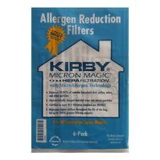 6x Kirby Micron Magico tipo G Hepa materiale Sacchetti aspirapolvere 204803
