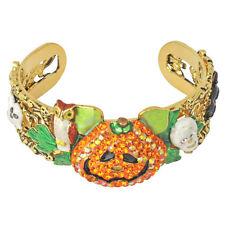 Kirks Folly Smashing Pumpkins Cuff Bracelet-Halloween Collectible-Size Average