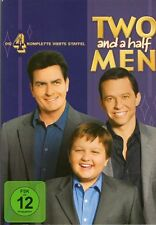 Two and a half Men - Die komplette vierte Staffel ( Season 4 ) DVD Charlie Sheen