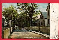 PROVINCETOWN MA CAPE COD MAN COMMERCIAL STREET 1905 WATSON AKRON OH  POSTCARD