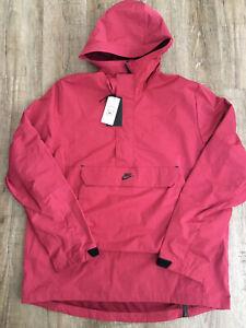 Nike Sportswear Mens Anorak Jacket Red Size Large DA7378-677
