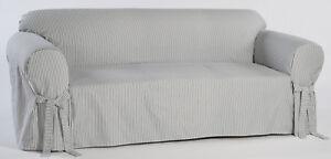 Cotton Ticking Pin- Stripe Sofa cover Twill Fabric
