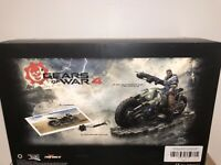 Xbox One Gears of War 4 Collector's Edition NEW JD Fenix COG Bike Statue