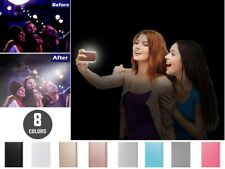 LED Luz teléfono funda titular luminoso para selfie para iPhone 6/7/8 Plus Uk