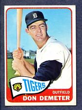 1965 Topps #429 Don Demeter - Detroit Tigers  Ex/Mt+
