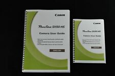 ~PRINTED~ Canon Powershot SX50 HS User guide Instruction manual A4 or handy A5