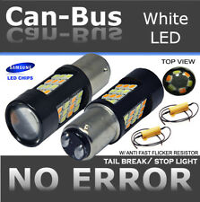 Samsung Canbus 1157 42LED Switchback White Yellow For Front Turn Signal Bulb T20